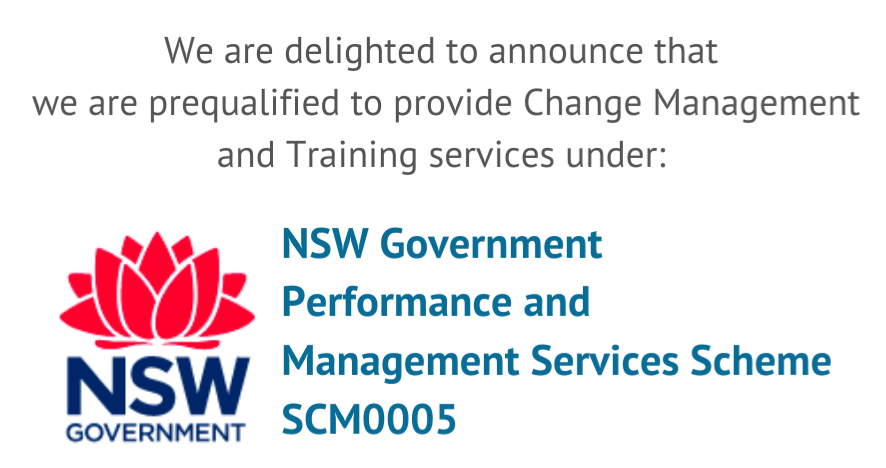 Change in Practice prequalified for NSW