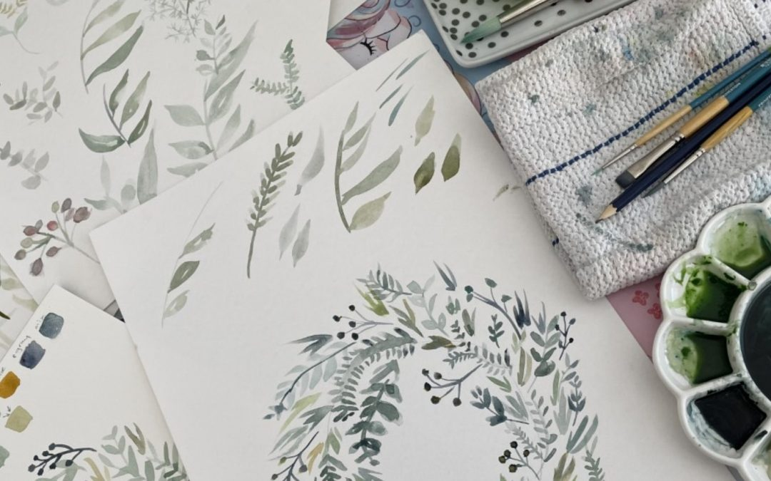 What watercolours are teaching me about change and leadership – 1: Working out where to start